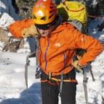 Ice Climbers — Stock Photo #9606355