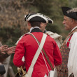 Stock Photo: Revolutionary War Reenactment