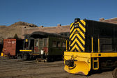 Yellow Locomotive — Stock Photo