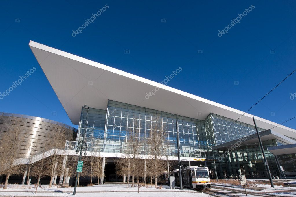 Colorado Convention Center in Downtown Denver. — Stock Photo #9603668