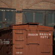 Stock Photo: Wooden Boxcar