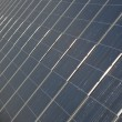 Solar Panels in a Power Plant — Stock Photo #9777258