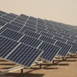 Solar Panels in a Power Plant — Stock Photo #9777346