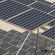 Solar Panels in a Power Plant — Stock Photo #9777368