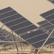 Solar Panels in a Power Plant — Stock Photo #9777397