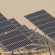 Solar Panels in a Power Plant — Stock Photo #9777402