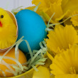 Stock Photo: Easter Busket