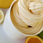Frozen Soft Serve Yogurt — Stock Photo #9906847