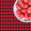 Stock Photo: Spring strawberry