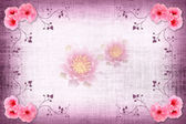 Photographic Effects fabric Background With easy append sample — Stock Photo