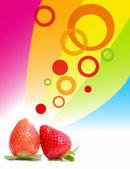 Spring strawberry — Stock Photo