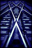перекресток железнодорожных — Стоковое фото