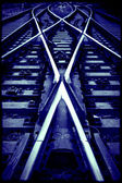 Encruzilhada da estrada de ferro — Foto Stock