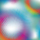 абстрактный красочные полутоновых векторные иллюстрации шаблон фонов — Cтоковый вектор