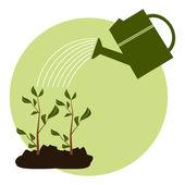 Arbor Day Icon — Stock Vector