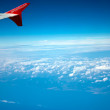 Plane wing — Stock Photo #10224995