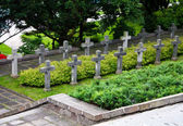 Cemetery in the citadel of Alexander. Warsaw. Poland — Stock Photo