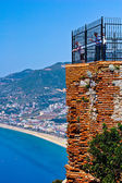 Turkey, Alanya castle — Stock Photo