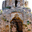 Ruins of fortress. byzantine church. Castle of Alanya — Stock Photo #10364257