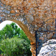 Turkey. entrance gate to fortress. Alanycastle. — Stock Photo #10370202