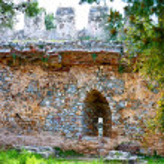 Turkey. Alanya castle. Part of fortress. — Stock Photo