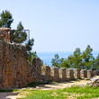 Landmark of Alanya. AlanyKalesi. turkey — Stock Photo #10395603