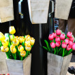 Souvenir. Wooden tulips. Keukenhof — Stock Photo #10547620