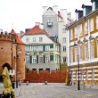 View od Warsaw Old Town, Poland.  UNESCO — Stock Photo