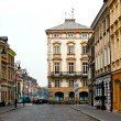 Warsaw, Poland. Old Town - UNESCO World Heritage Site. — Stock Photo