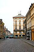 Warsaw, Poland. Old Town - UNESCO World Heritage Site. — Stock Photo