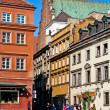 Warsaw. Old town. Poland — Stock Photo