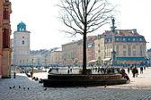 Warsaw, Poland. Old Town. UNESCO World Heritage Site — Stock Photo