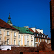 Old Town architecture in Warsaw, Poland — Stock Photo