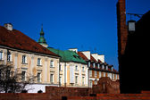 Old Town architecture in Warsaw, Poland — Foto Stock