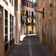Palma de Mallorca old city - Stock Photo