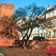 Attractions of the old city of Warsaw. Poland - Stock Photo