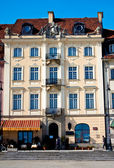 The old city of Warsaw. Poland — Stock Photo
