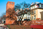 Attractions of the old city of Warsaw. Poland — Stock Photo