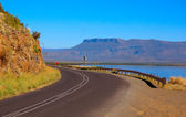 African mountain road — Stock Photo