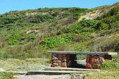 在自然中的板凳 — 图库照片
