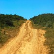 African country road — Stock Photo