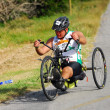 Disabled athlete at Ironman — Stock Photo #10230675
