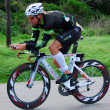 Ironman triathlete cycling — Stock Photo #10231773