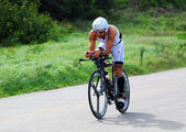 Triathlete Ivan Albano from Brazil — Stock Photo