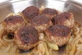 Traditional German meatballs — Stock Photo