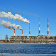 Thermal power station — Stock Photo #9019629