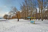 Winter beach. — Stock Photo