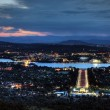 Canberra a sunset — Stock Photo #9194465