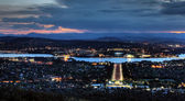 Canberra a sunset — Stock Photo
