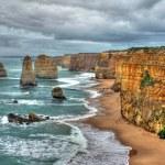 12 Apostles on the Great Ocean Road, Australia — Stock Photo #9377370